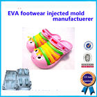 Colorful Soft Footwear Mold  Single / Multi  Cavity Easy To Operate