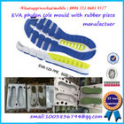 PCU PVC Sports Shoe  Mould Durable Plastic Injection Shoe Mould
