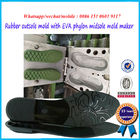 Sturdy Steel Shoe Sole Mold Customized Color 25 - 49 Size Range