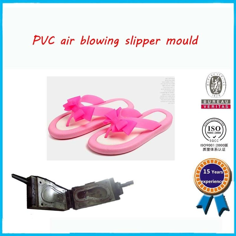 Air Blowing PVC Shoe Mold Soft Flip Flop Mold Easy To Operate